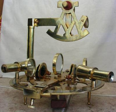 Think it is a sextant?