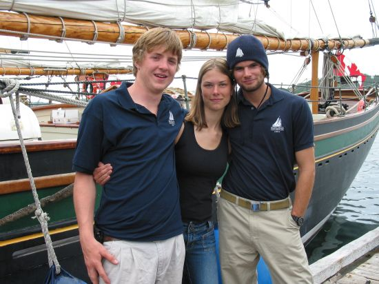 Greg, Deidre, and Jordan