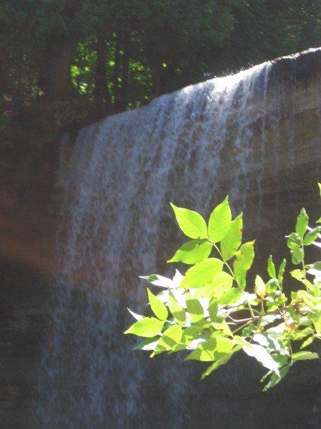 Bridal Veil Falls, Kagawong, Manatoulin Island