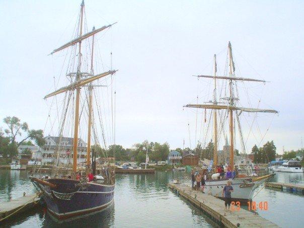 Docked in Killarney