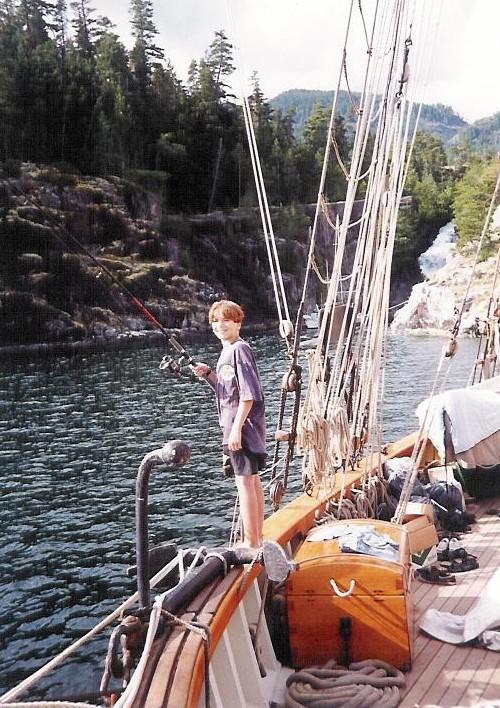 Matt Trigg fishing
