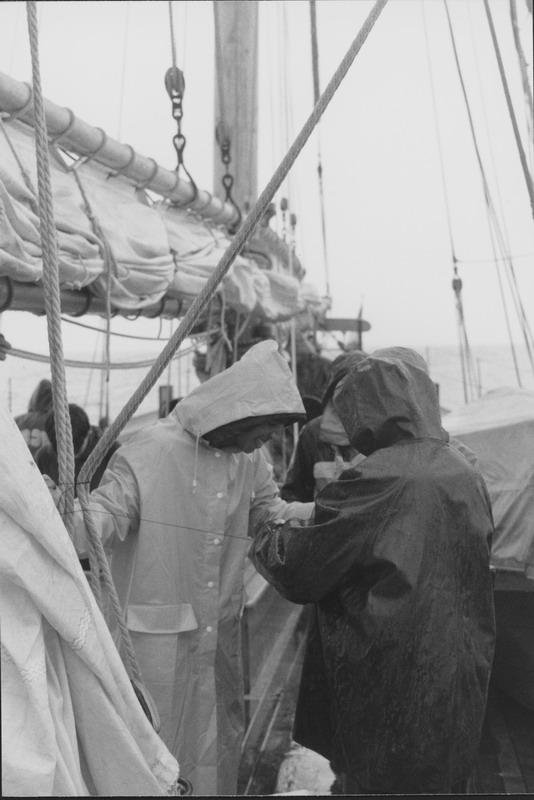 Black & White Sailing