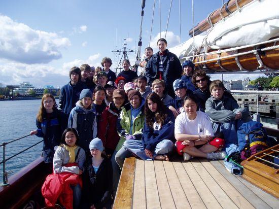 Pacific Grace 2005 - SCMS Trip