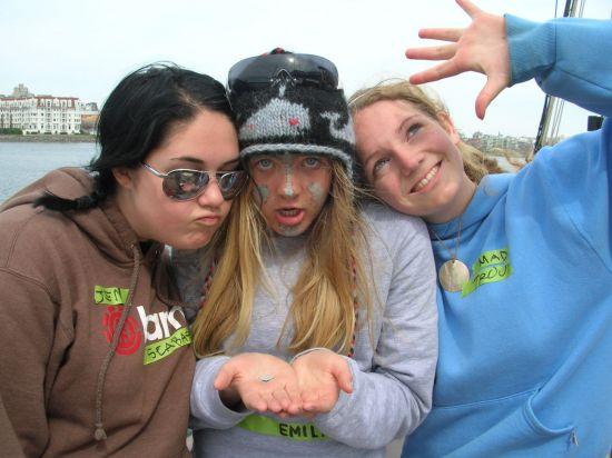 Jen, Emily, Madelyn