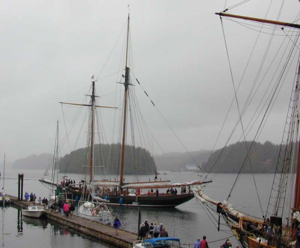Arrival At Ucluelet