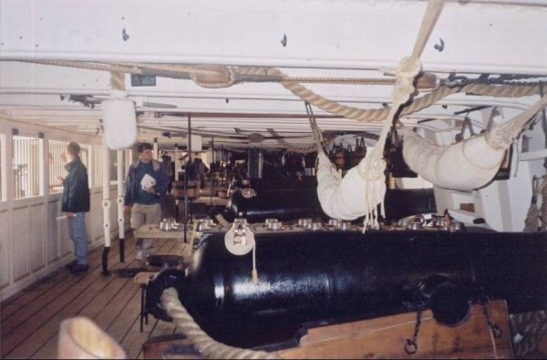 Gun Deck of the Warrior