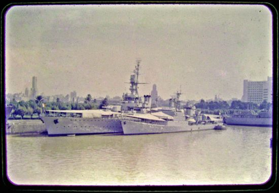 French Navy TV and escort