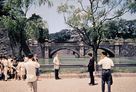 The Bridge to the Royal Gate House in Tokyo