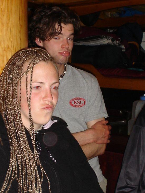 Tara and Jordan