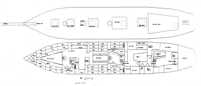Robertson II Deck Plans