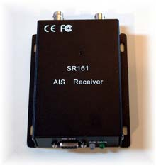 Example of a scanning AIS Receiver