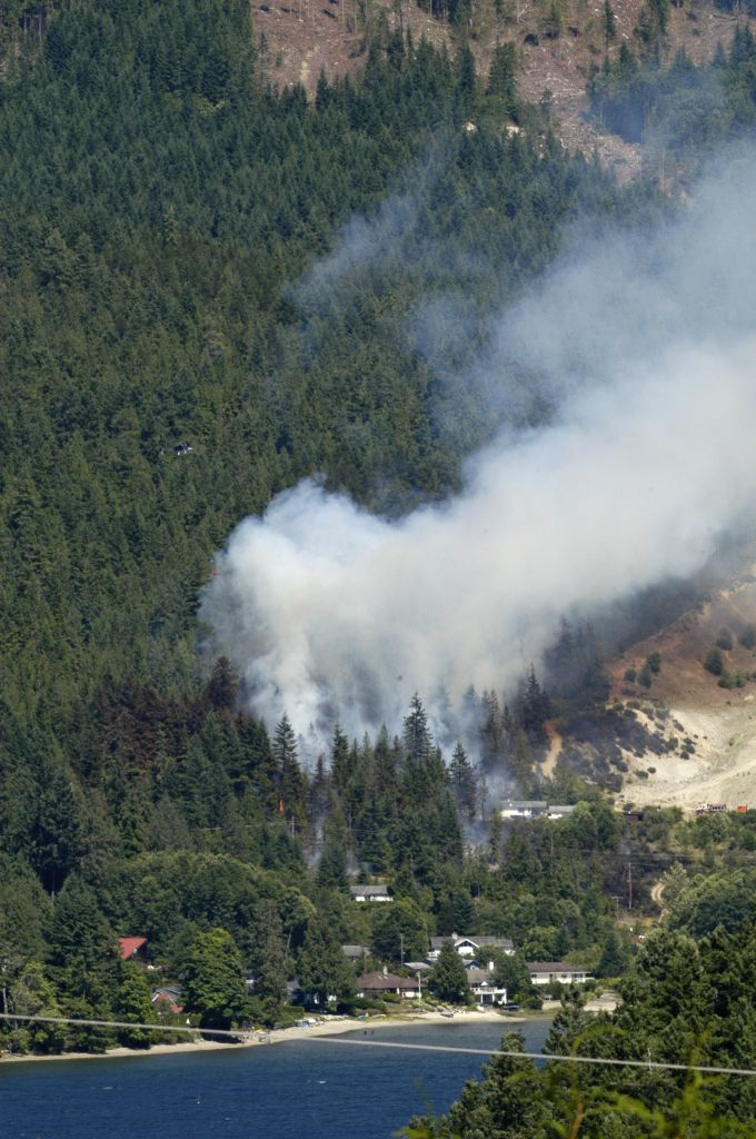 East Porpoise Bay Forest Fire