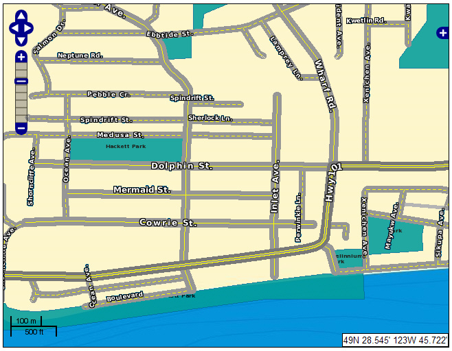 Sample Street Map