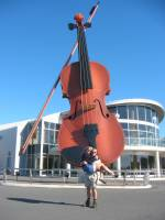 The World´s Largest Violin