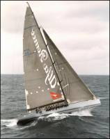 Alfa Romeo, the Line Honours winner of the 2002 Sydney to Hobart Race