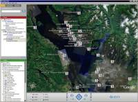 CCGA-P SAR export in Google Earth