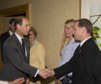 Meeting HRH the Prince Edward