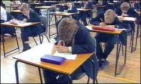 Others stuck writing an exam